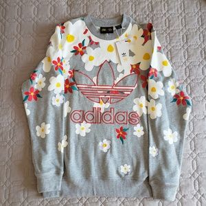 4bead92f9e346 adidas Sweaters   Nwt Pharrell Williams Daisy Multicolor   Poshmark